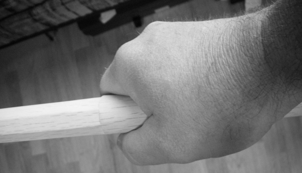 fig 6. ping pong ball grip
