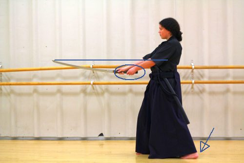 points vs practice in iaido